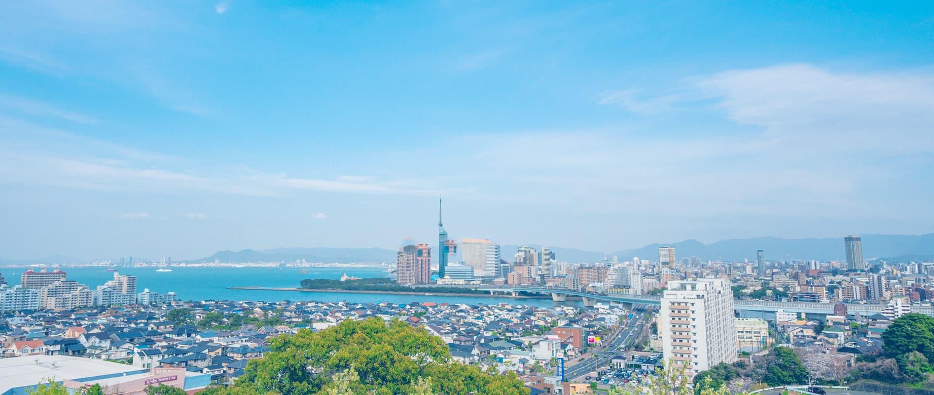 福岡市街地の風景
